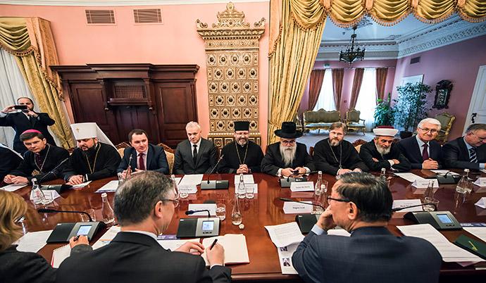 Посли країн G7 обговорили стан реформ з Всеукраїнською Радою Церков