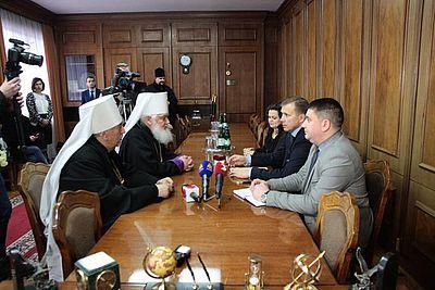 Голова держадміністрації Івано-Франківщини запевнив главу УАПЦ, що підтримуватиме ідею єдиної помісної церкви