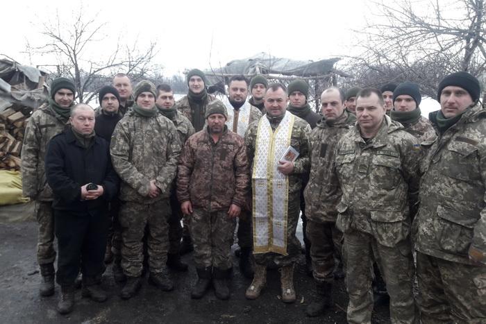Капелани УГКЦ здійснили чергову духовну місію у зону АТО
