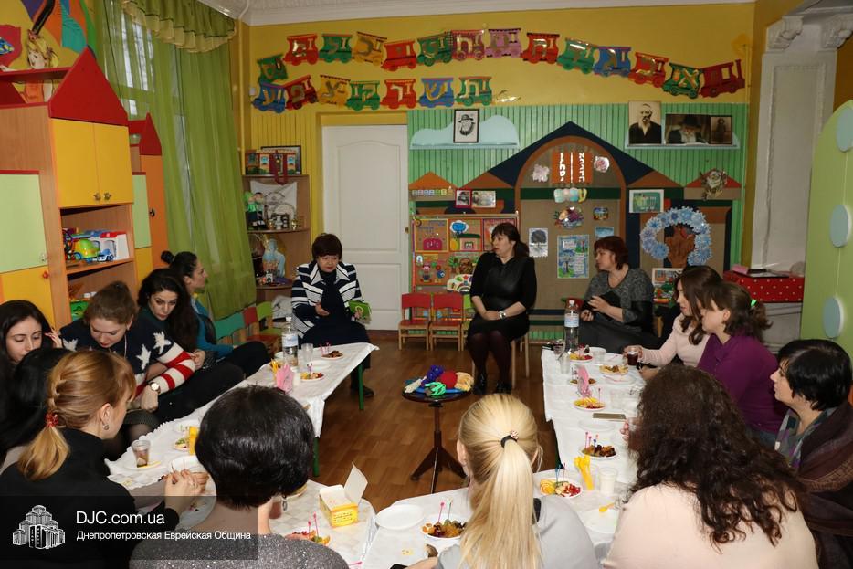 Гештальт-терапевты помогают еврейским детским яслям Днепра