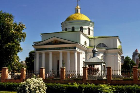"""Білоцерківську єпархію УПЦ звинувачують у незаконній забудові собору і """"церкви Мазепи"""""""