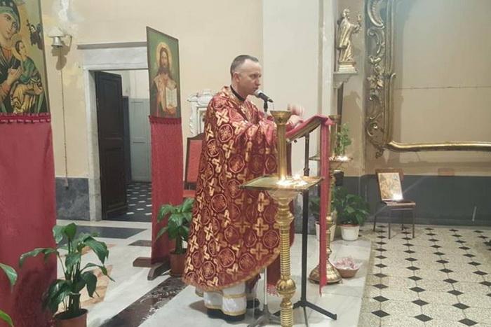 Одну з найбільших великопісних місій для українських заробітчан Італії розпочав священик УГКЦ