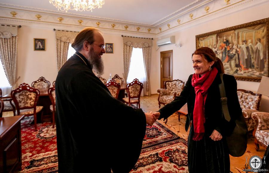 Керуючий справами УПЦ говорив з головою Моніторингової місії ООН про звільнення полонених і утиски церкви