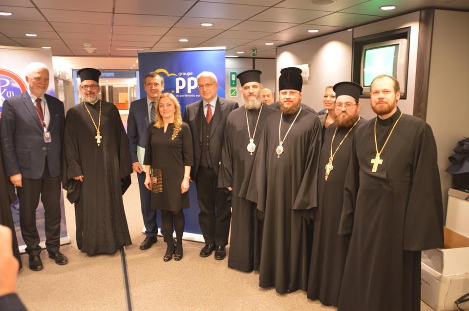 Єпископ УПЦ виступив на культурологічному семінарі в Європарламенті