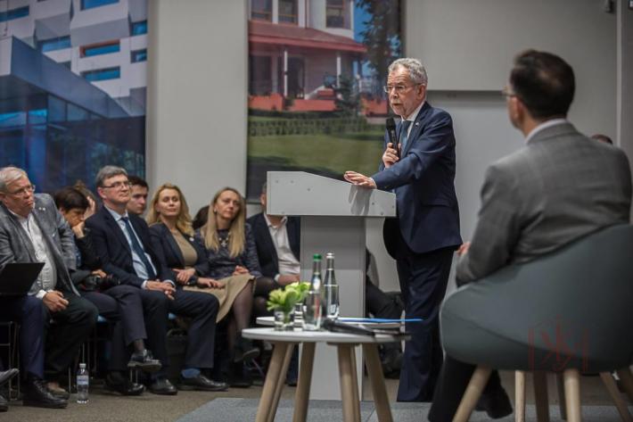 Президент Австрії виступив перед студентами Українського католицького університету