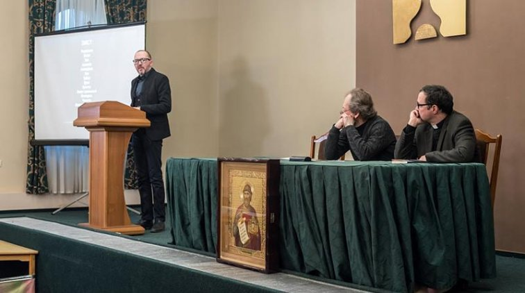 У столичному Відкритому православному університеті католики виступили з лекцією та презентували книжку