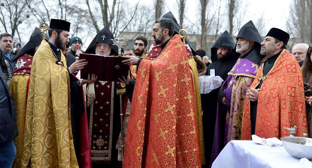 Католикос всех армян Гарегин II посетил Украину