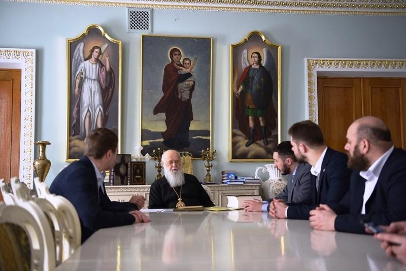 Глава УПЦ КП обговорив з депутатами від «Свободи» роль УПЦ (МП) в російській агресії