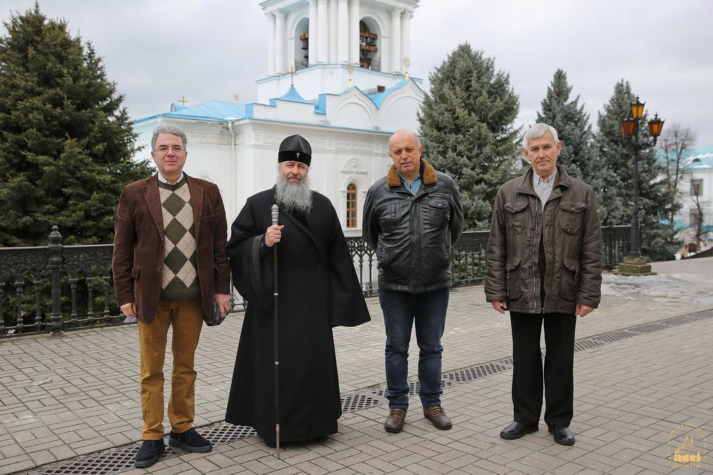 Посол Греції в Україні відвідав з паломницьким візитом Святогірську лавру