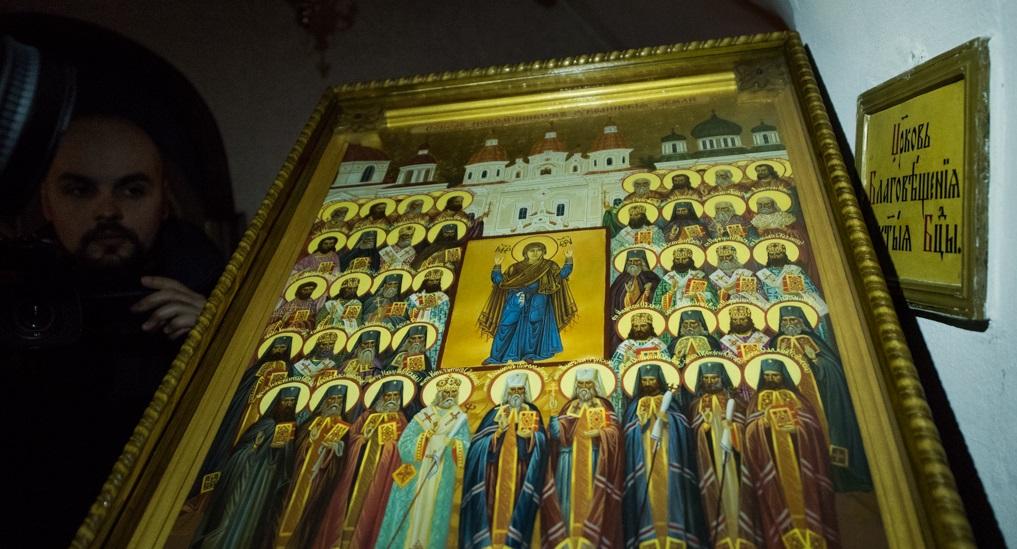 Впервые в истории УПЦ (МП) появилась икона «Собор новомучеников украинской земли»