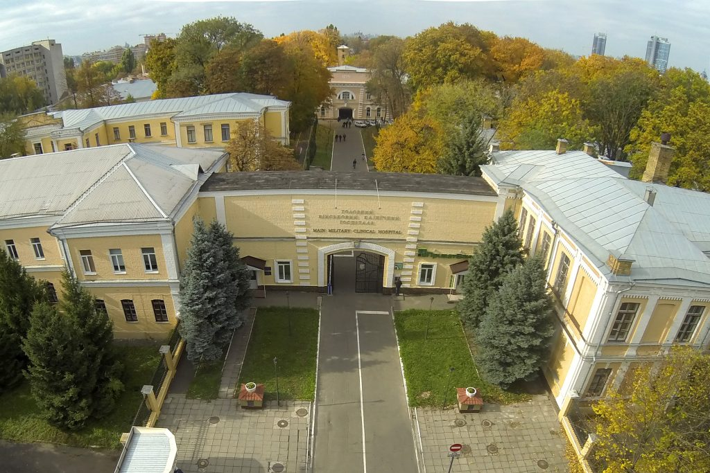 Київська академія і семінарія УПЦ передала пораненим бійцям АТО дві тони продуктів