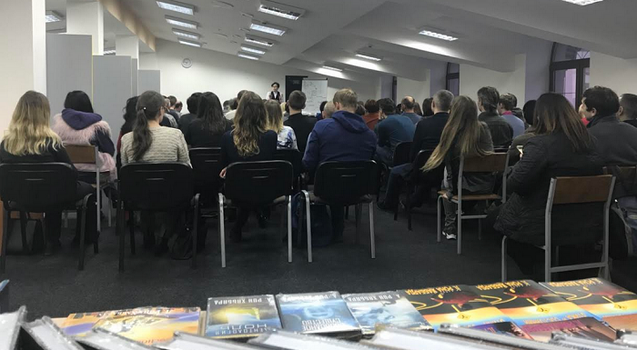 У Києві пройшов семінар духовного лідера столичних саєнтологів