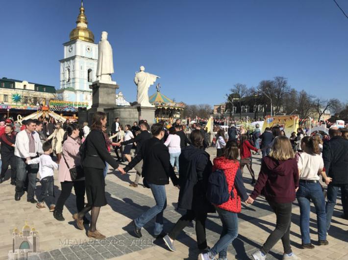 У Києві відбулися «Гаївки на Софіївській», започатковані УГКЦ
