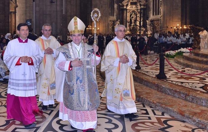 100 римо-католицьких священиків на чолі з архієпископом Мілану відвідають святині Києва і зустрінуться з місцевими ієрархами