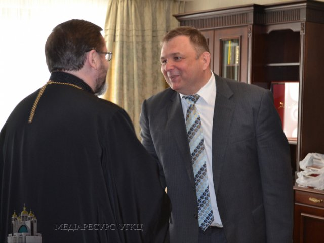 Предстоятелі УПЦ КП і УГКЦ обговорили державно-церковні відносини з головою Рахункової палати і суддями Конституційного суду України