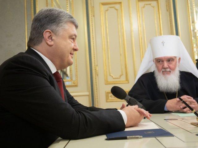 Президент зустрівся з главами Православних Церков України, отримавши від них звернення до Вселенського патріарха щодо автокефалії