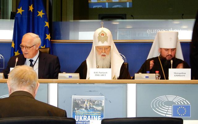 """В УПЦ (МП) викривили інформацію щодо виступу Філарета в Європарламенті та заявили про """"розпалювання релігійної ворожнечі"""""""