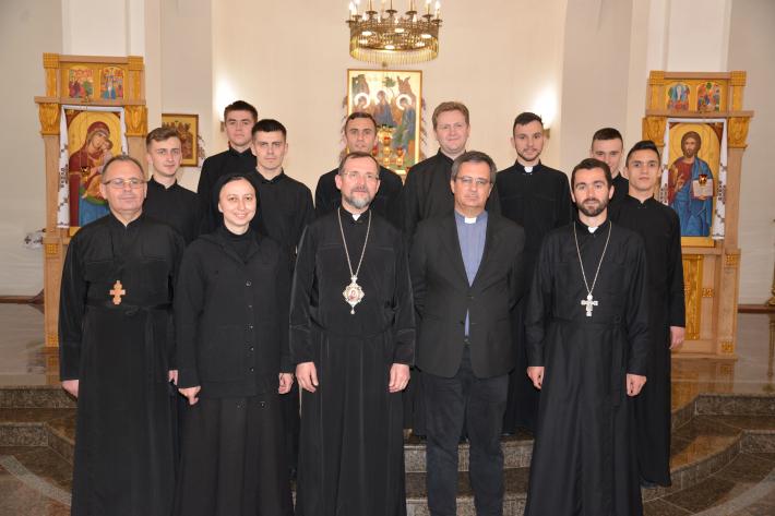 Генеральний секретар Ради Єпископських Конференцій Європи знайомиться з Україною