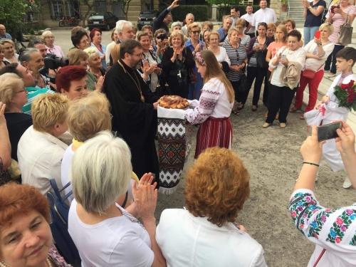 Глава УГКЦ відсвяткував у Греції 20-річчя заснування української церковної громади