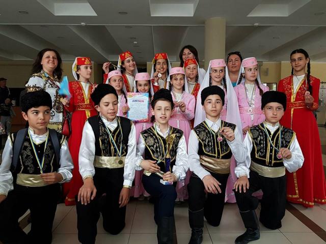 Діти-мусульмани здобули І місце на Всеукраїнському дитячому фестивалі-конкурсі мистецтв