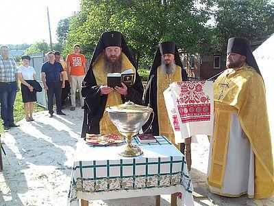 На Харківщині освячено місце побудови храму чоловічого монастиря УАПЦ