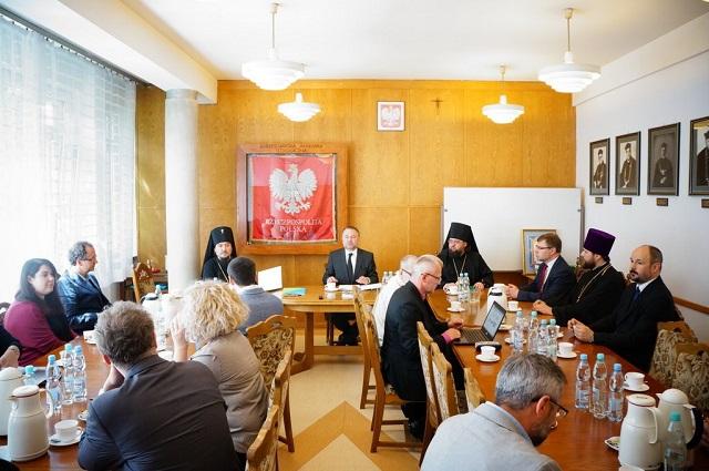 Київська академія УПЦ та Християнська академія у Варшаві уклали угоду про співробітництво