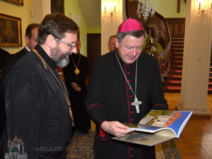 У Польщі єпископи УГКЦ і РКЦ обговорили процес примирення між українським і польським народами