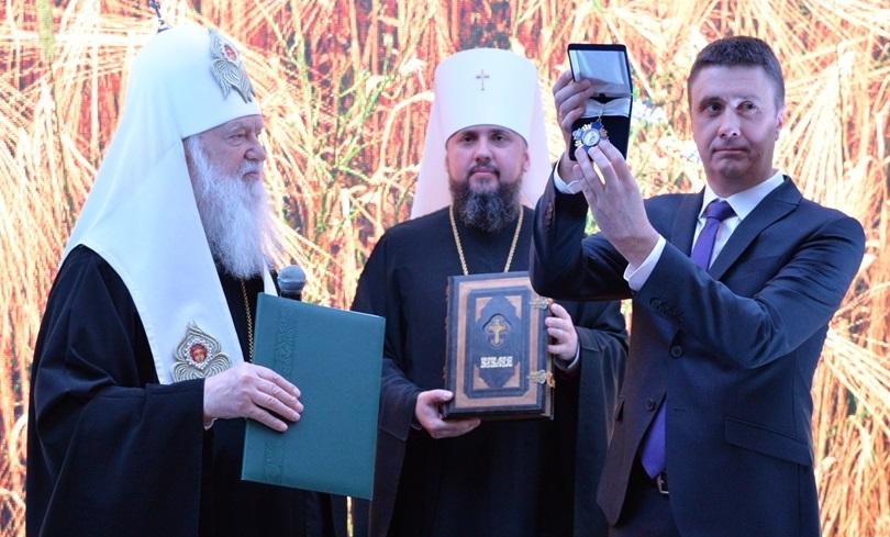 Віце-прем'єр-міністра України В'ячеслава Кириленка нагородили орденом УПЦ КП