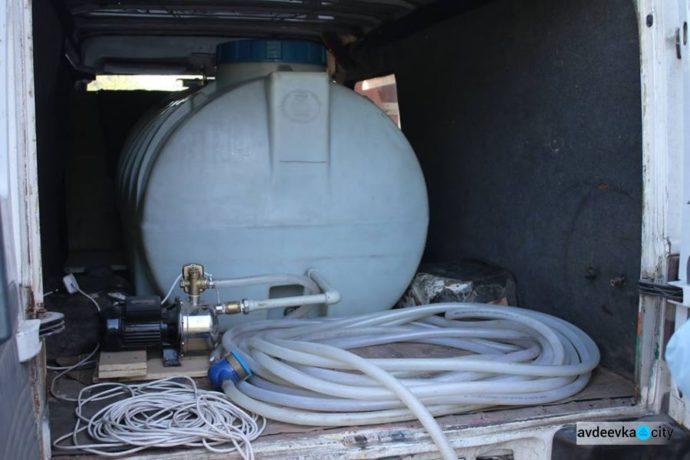 Адвентисты за неделю доставили 50 тысяч литров питьевой воды для жителей Донбасса