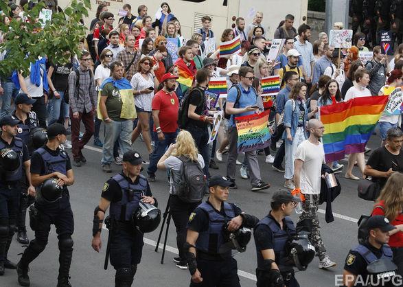 У столиці пройшли акції ЛГБТ та їх релігійних опонентів