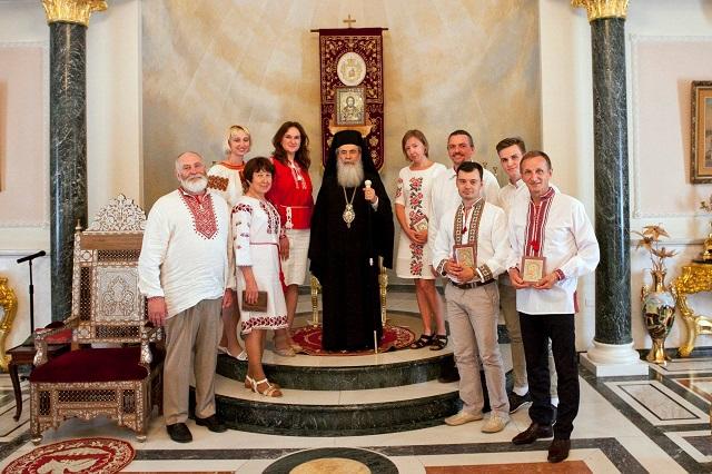 Паломники УПЦ КП дістали від Єрусалимського патріарха поради, що робити після отримання томосу про автокефалію