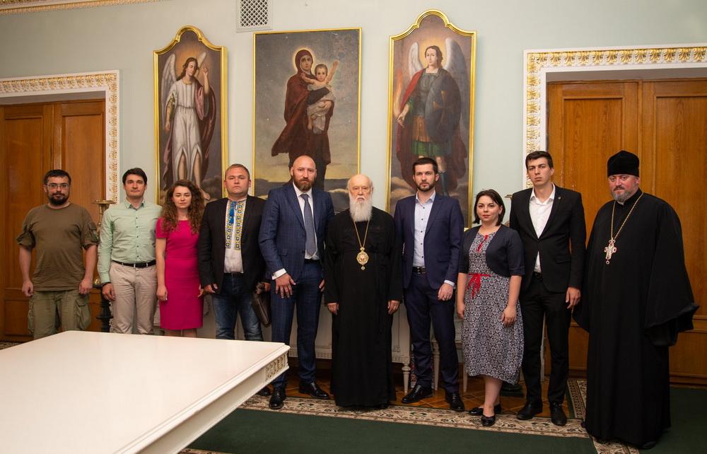 Група вірян розповіла главі УПЦ КП про зустріч з Вселенським патріархом, на якій порушувалося питання автокефалії