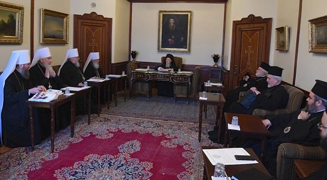 Делегація УПЦ обговорила з Константинопольським патріархом питання подолання українського розколу