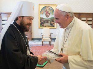 Католический священник из Канады утверждает, что папа Франциск приносит украинских греко-католиков в жертву ради сближения с РПЦ