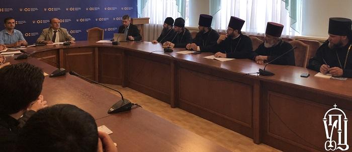 Представники вищих духовних закладів України обговорили з першим заступником міністра освіти питання щодо ліцензування та акредитації духовних закладів