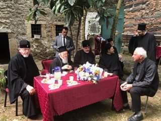 Керівники УПЦ Константинопольського Патріархату обговорили з патріархом Варфоломієм українське питання