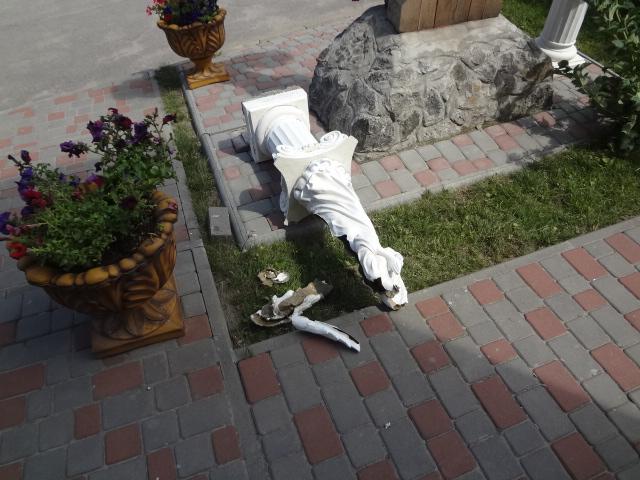 У Вінниці вандали вчергове знищили святиню УПЦ КП