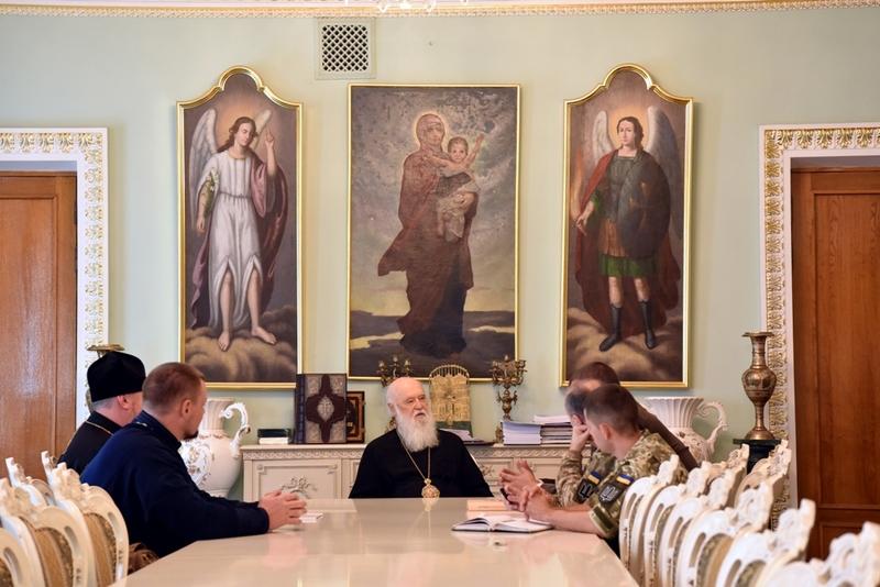 УПЦ КП обговорює з військовими можливість присвоєння військовим частинам імен українських святих