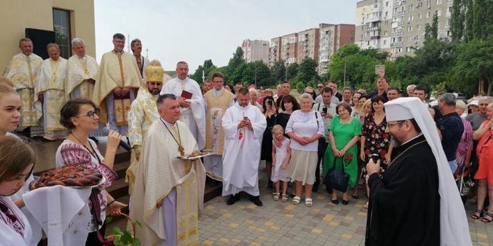 Глава УГКЦ освятив храм на Одещині