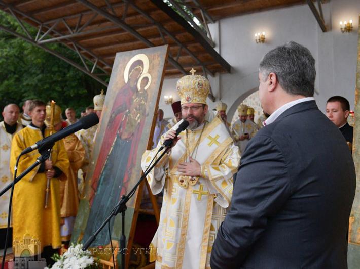 Глава УГКЦ до президента: «Вітаємо все, що робиться для єдності православних, але з настанням автокефалії для УГКЦ нічого не зміниться»