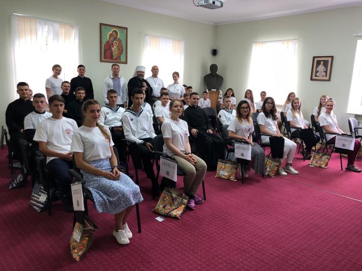 Глава УГКЦ та італійський кардинал відкрили четверту благодійну школу для семінаристів та дітей з родин учасників АТО, переселенців, дітей-сиріт