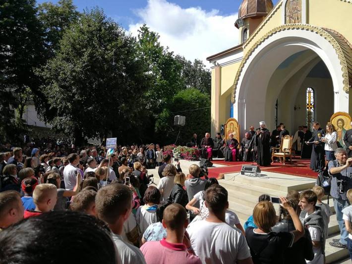Глава УГКЦ закликає молодь не використовувати насилля для збереження християнської моралі