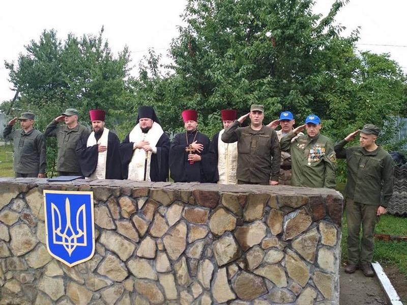 Єпископ УПЦ КП відвідав частину Національної гвардії України