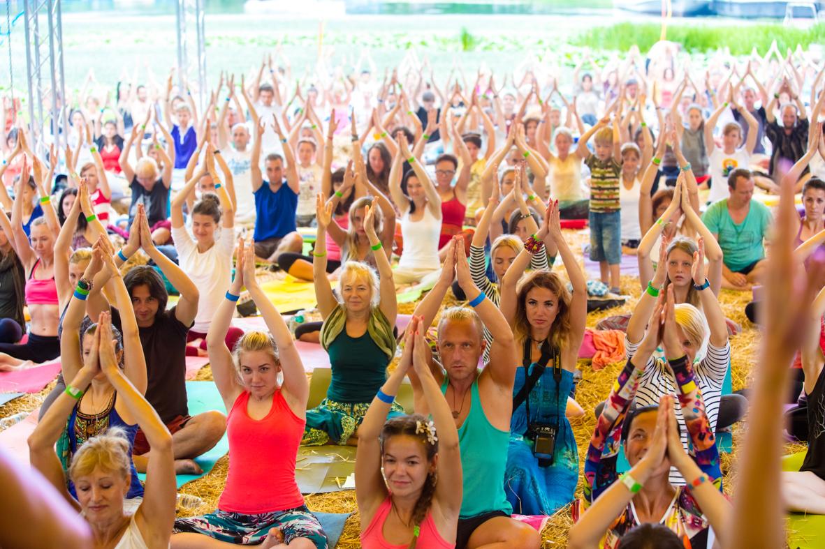 У Києві відбудеться найбільший у Європі міжнародний фестиваль йоги