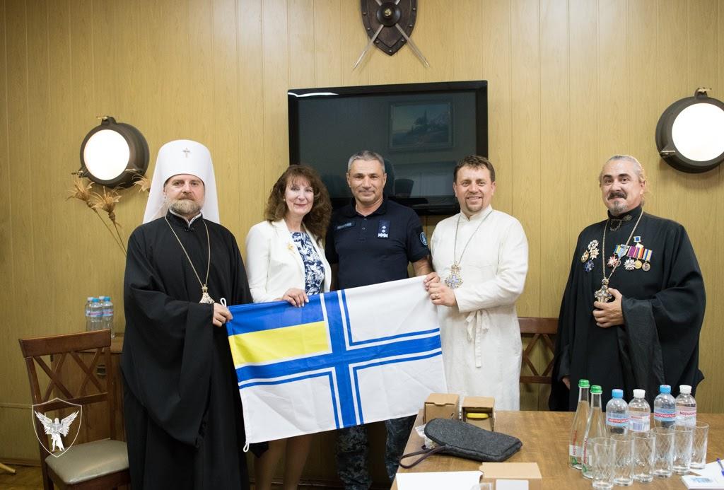 Митрополит УПЦ КП обговорив з командувачем ВМС України питання розвитку інституту військового духовенства