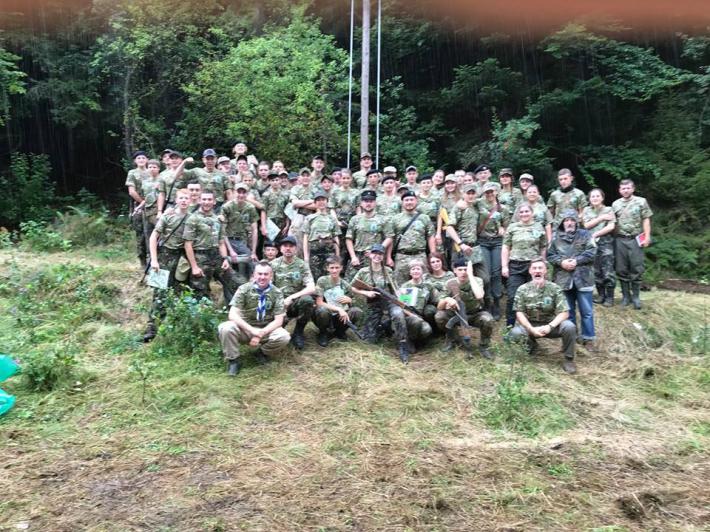 Військові разом з УГКЦ провели у Карпатах християнський табір «Захисник»