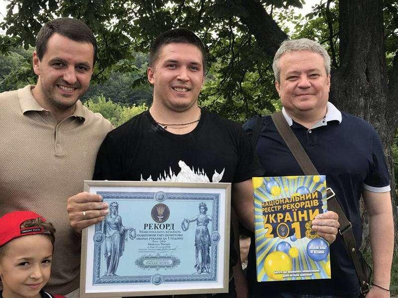 До ювілею Хрещення Русі буковинець встановив рекорд України