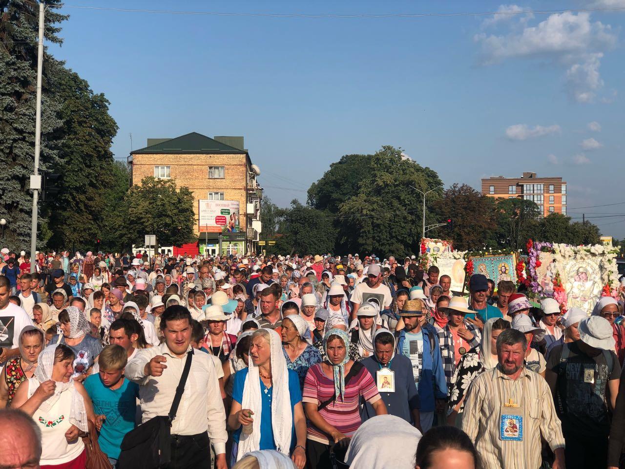 З Польщі до Почаєва вирушила міжнародна хресна хода