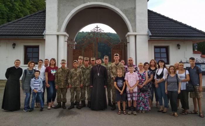 УГКЦ організувала паломництво для військовослужбовців