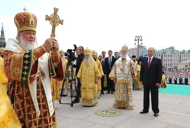 """Патриарх Кирилл еще раз заявил, что не согласится с попытками """"оторвать УПЦ от МП"""""""